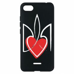 Чехол для Xiaomi Redmi 6A Серце з гербом - FatLine