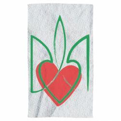 Полотенце Серце з гербом