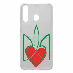 Чехол для Samsung A60 Серце з гербом