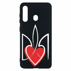 Чехол для Samsung M40 Серце з гербом