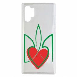 Чехол для Samsung Note 10 Plus Серце з гербом