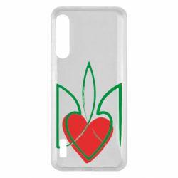 Чохол для Xiaomi Mi A3 Серце з гербом