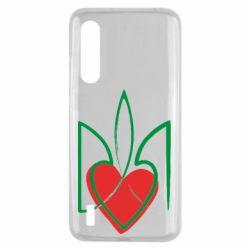 Чехол для Xiaomi Mi9 Lite Серце з гербом
