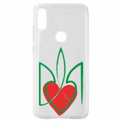 Чехол для Xiaomi Mi Play Серце з гербом