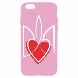 Чехол для iPhone 6/6S Серце з гербом