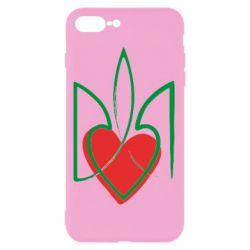 Чехол для iPhone 7 Plus Серце з гербом