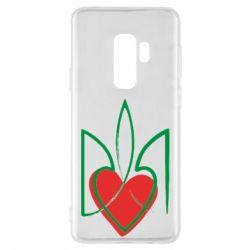 Чехол для Samsung S9+ Серце з гербом