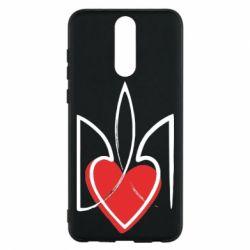 Чехол для Huawei Mate 10 Lite Серце з гербом - FatLine