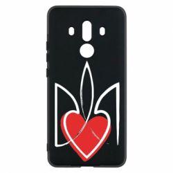 Чехол для Huawei Mate 10 Pro Серце з гербом - FatLine