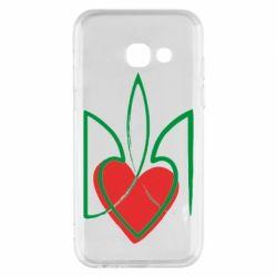 Чехол для Samsung A3 2017 Серце з гербом
