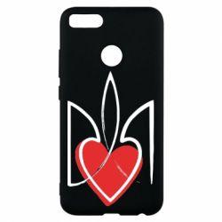 Чехол для Xiaomi Mi A1 Серце з гербом