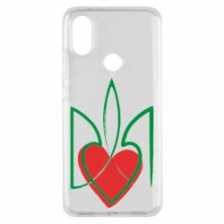 Чехол для Xiaomi Mi A2 Серце з гербом