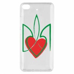 Чехол для Xiaomi Mi 5s Серце з гербом