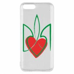 Чехол для Xiaomi Mi6 Серце з гербом