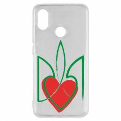 Чехол для Xiaomi Mi8 Серце з гербом