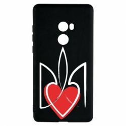 Чехол для Xiaomi Mi Mix 2 Серце з гербом - FatLine