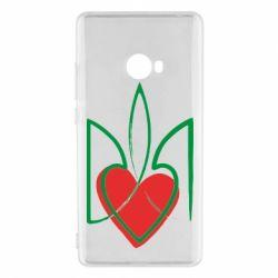 Чехол для Xiaomi Mi Note 2 Серце з гербом - FatLine