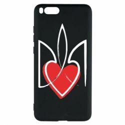Чехол для Xiaomi Mi Note 3 Серце з гербом - FatLine
