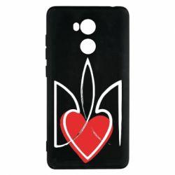 Чехол для Xiaomi Redmi 4 Pro/Prime Серце з гербом - FatLine