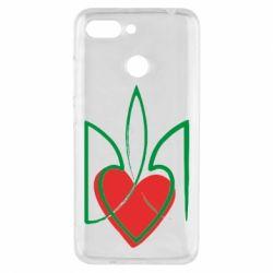 Чехол для Xiaomi Redmi 6 Серце з гербом - FatLine
