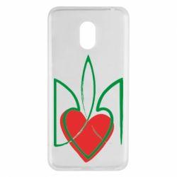 Чехол для Meizu M6 Серце з гербом - FatLine