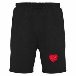 Мужские шорты Сердце и надпись Любимой