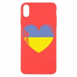 Чохол для iPhone X/Xs Серце України