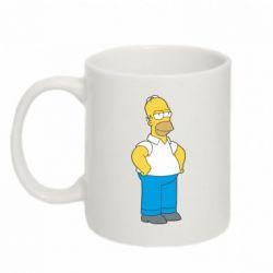 Кружка 320ml Серьезный Homer - FatLine