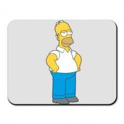 Коврик для мыши Серьезный Homer - FatLine