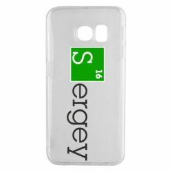 Чехол для Samsung S6 EDGE Sergey