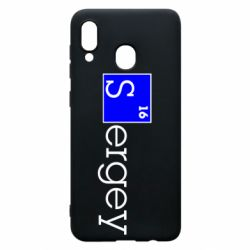 Чехол для Samsung A30 Sergey