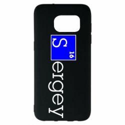 Чехол для Samsung S7 EDGE Sergey
