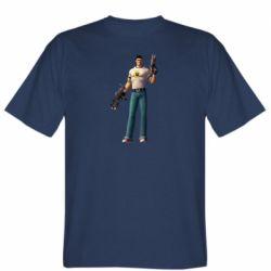 Мужская футболка Serious Sam with guns