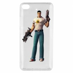 Чехол для Xiaomi Mi 5s Serious Sam with guns