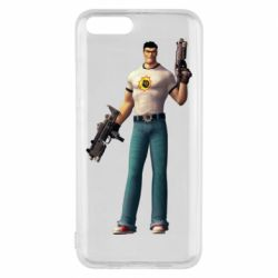 Чехол для Xiaomi Mi6 Serious Sam with guns
