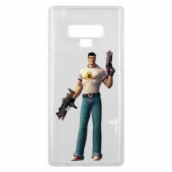 Чехол для Samsung Note 9 Serious Sam with guns