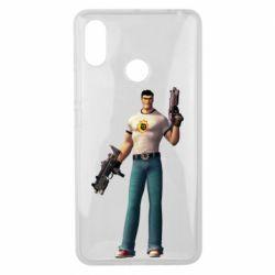 Чехол для Xiaomi Mi Max 3 Serious Sam with guns