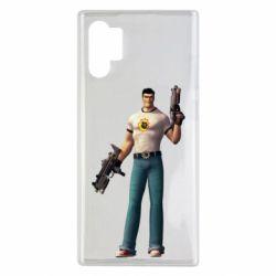 Чехол для Samsung Note 10 Plus Serious Sam with guns