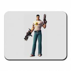 Коврик для мыши Serious Sam with guns