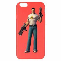 Чехол для iPhone 6 Plus/6S Plus Serious Sam with guns