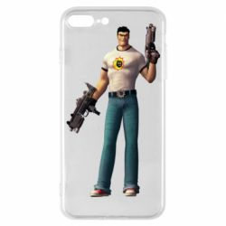 Чехол для iPhone 7 Plus Serious Sam with guns