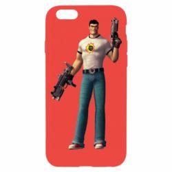 Чехол для iPhone 6/6S Serious Sam with guns