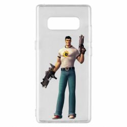 Чехол для Samsung Note 8 Serious Sam with guns