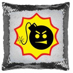 Подушка-хамелеон Serious Sam