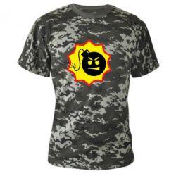 Камуфляжная футболка Serious Sam - FatLine