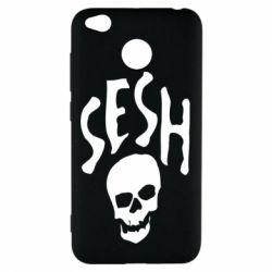 Чехол для Xiaomi Redmi 4x Sesh skull