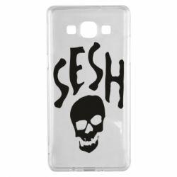 Чехол для Samsung A5 2015 Sesh skull