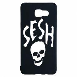 Чехол для Samsung A5 2016 Sesh skull