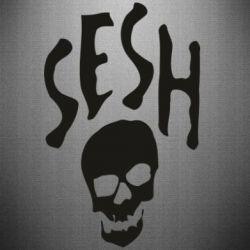 Наклейка Sesh skull