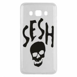 Чехол для Samsung J5 2016 Sesh skull